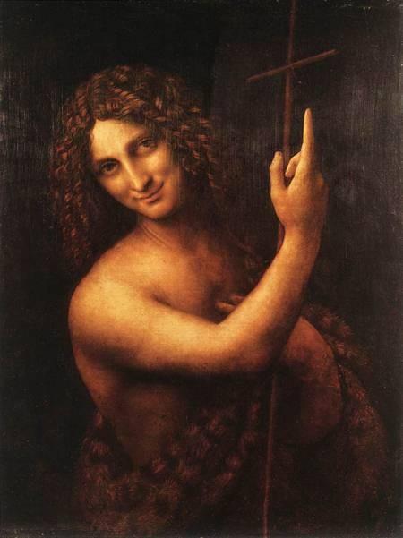 Saint John the Baptist  Leonardo Da Vinci
