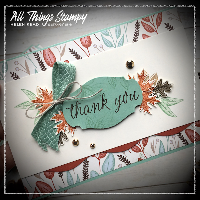 Beautiful Autumn Gilded Stampin Up