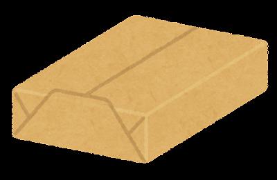 プリント用紙のイラスト(茶色)