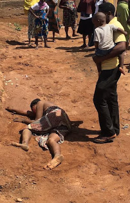 Woman beaten to a pulp by her husband in Kwara