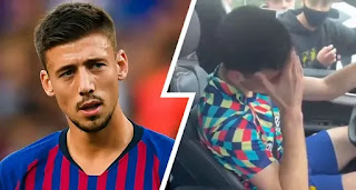 Lenglet almost reduced to tears when confronted by Barca fans after Cadiz draw