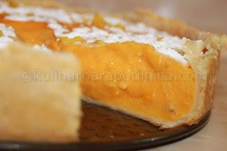 Пай с тиква и крем сирене - рецепта