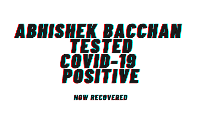 Abhishek Bachchan test positive for Covid-19 -  After Father Amitabh Bachchan