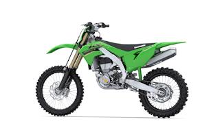 Spesifikasi KX450 2022 dari Kawasaki