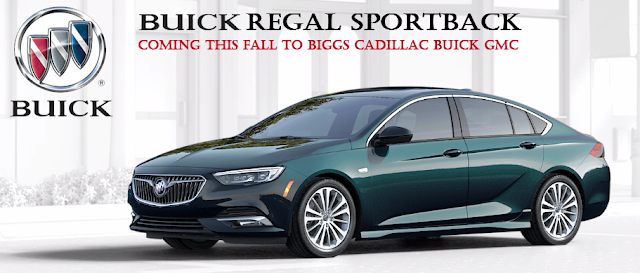 Buick Regal Sportback GS coming to BIggs Cadillac Buick GMC this Fall