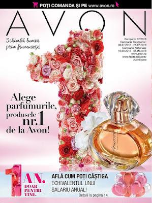 AVON Catalog-Brosura  №12 2018