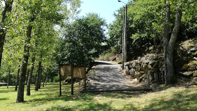 entrada para a Zona verdejante