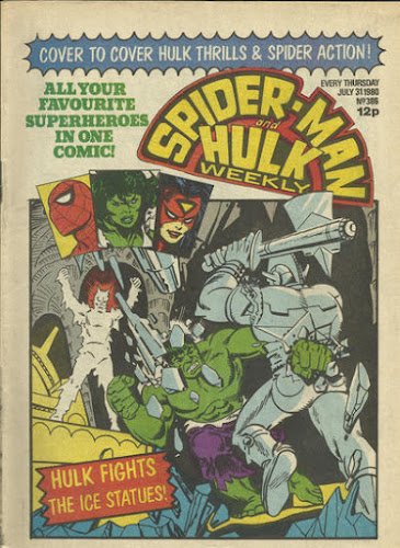Spider-Mand and Hulk Weekly #386, Jack Frost