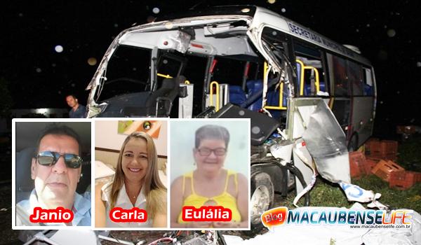 Tragédia: Mortos do acidente com micro-ônibus começam a ser identificados em Capela do Alto Alegre-BA.