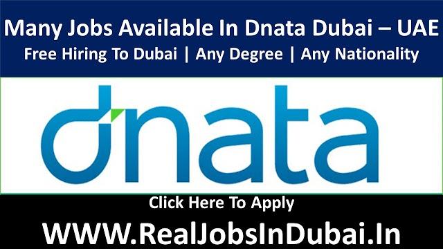 DNATA Hiring Staff In Dubai UAE 2021