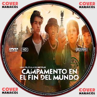 GALLETA CAMPAMENTO EN EL FIN DEL MUNDO- RIM OF THE WORLD 2019[COVER DVD]