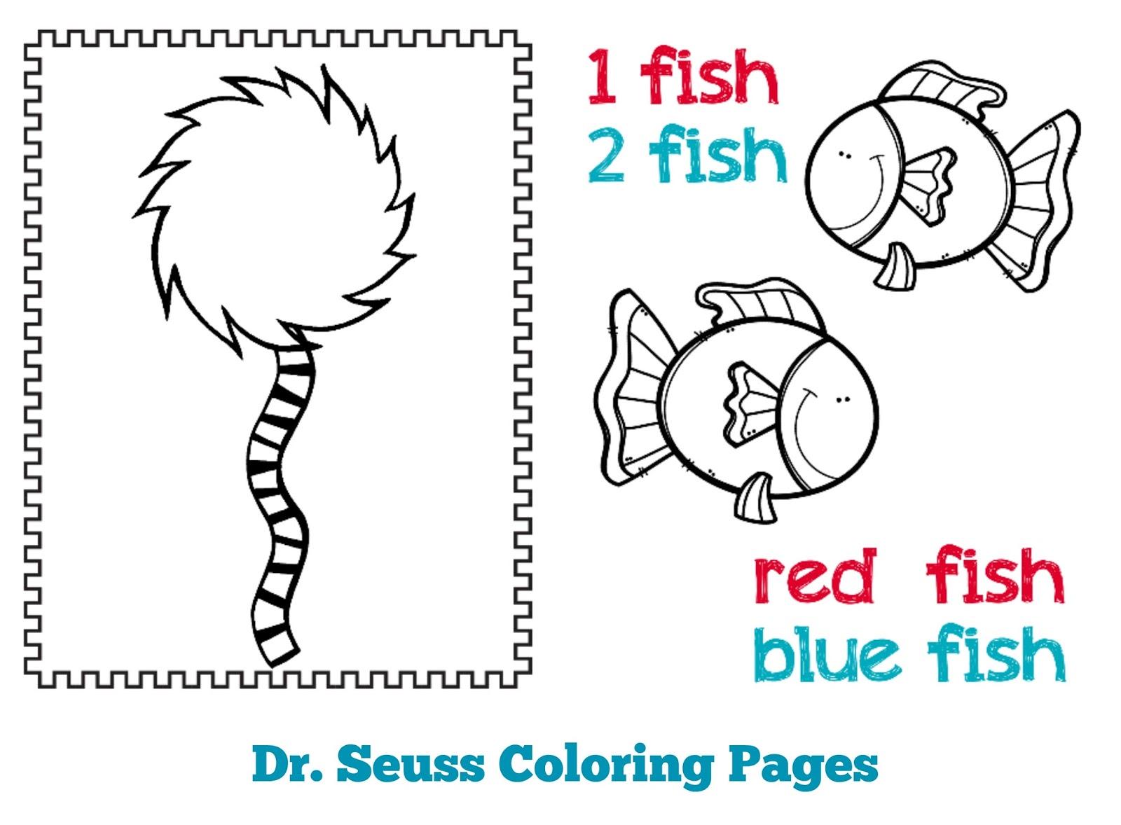 The Cozy Red Cottage Dr Seuss Preschool Mini Pack