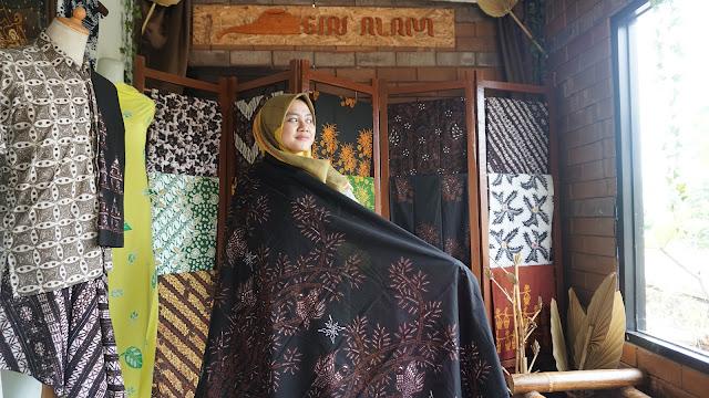 Batik Tulis Motif Pring Sedapur