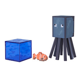Minecraft Series 3 Squid Overworld Figure