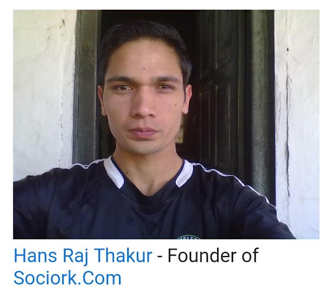 Hansraj founder of sociork