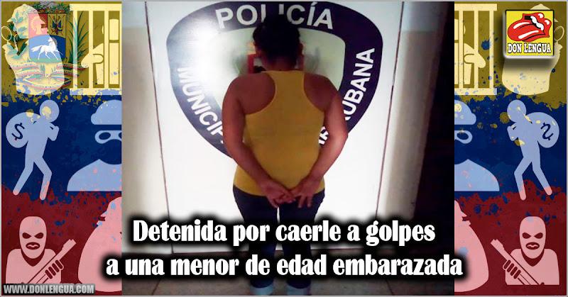 Detenida por caerle a golpes a una menor de edad embarazada