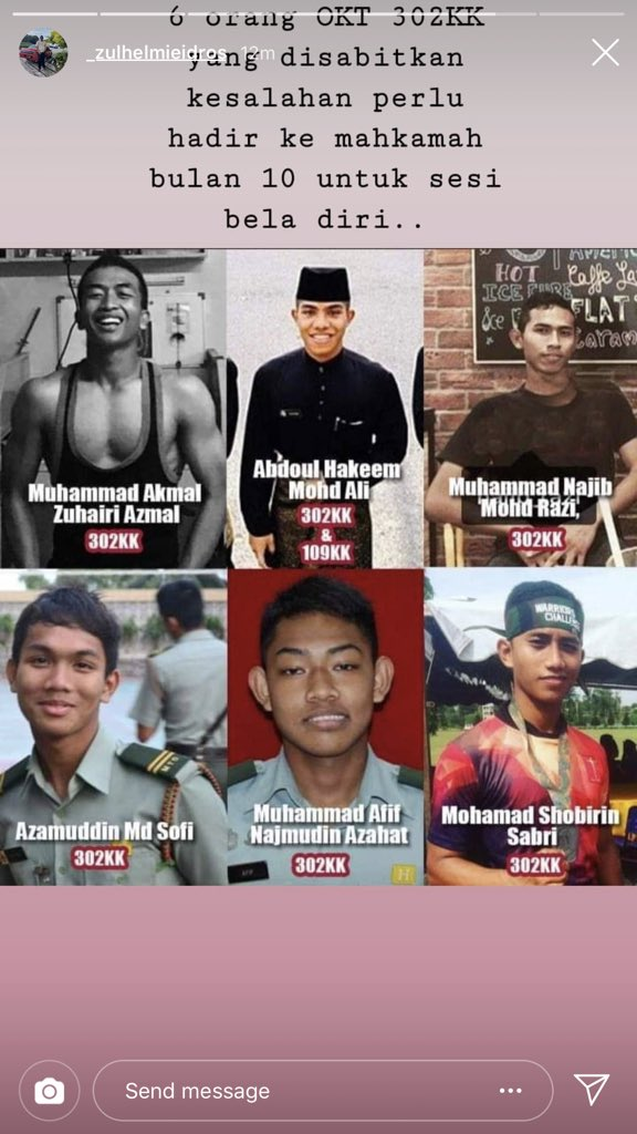 Keputusan kes buli Zulfarhan UPNM