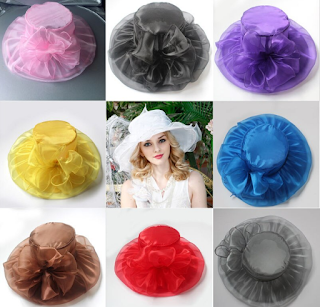 اسماء القبعات التي تستخدمها المرأة