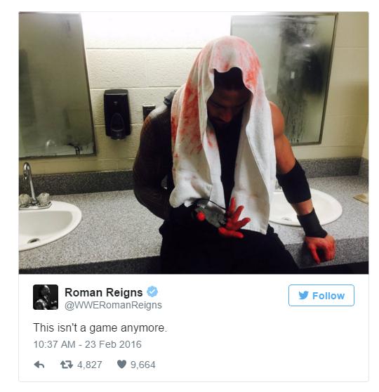 Roman Reigns Vs Triple H WWE