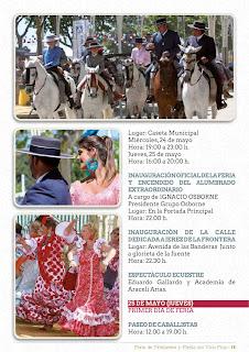 Feria de la Primavera y Fiesta del Vino Fino 2017 - Programa de Actos 02