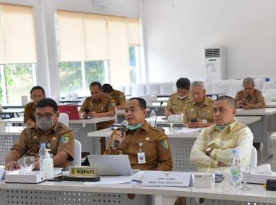 Bupati Zahir Tingkatkan Kerjasama Forkopimda Penanganan Virus Corona (Covid-19) Di Batubara