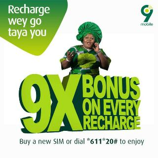 9mobile Offers Customers With Bonus Airtime