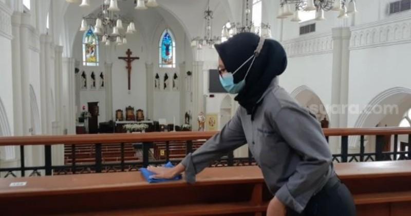 Penuh Toleransi, Begini Pengalaman Karyawan Muslim Kerja di Gereja Katolik