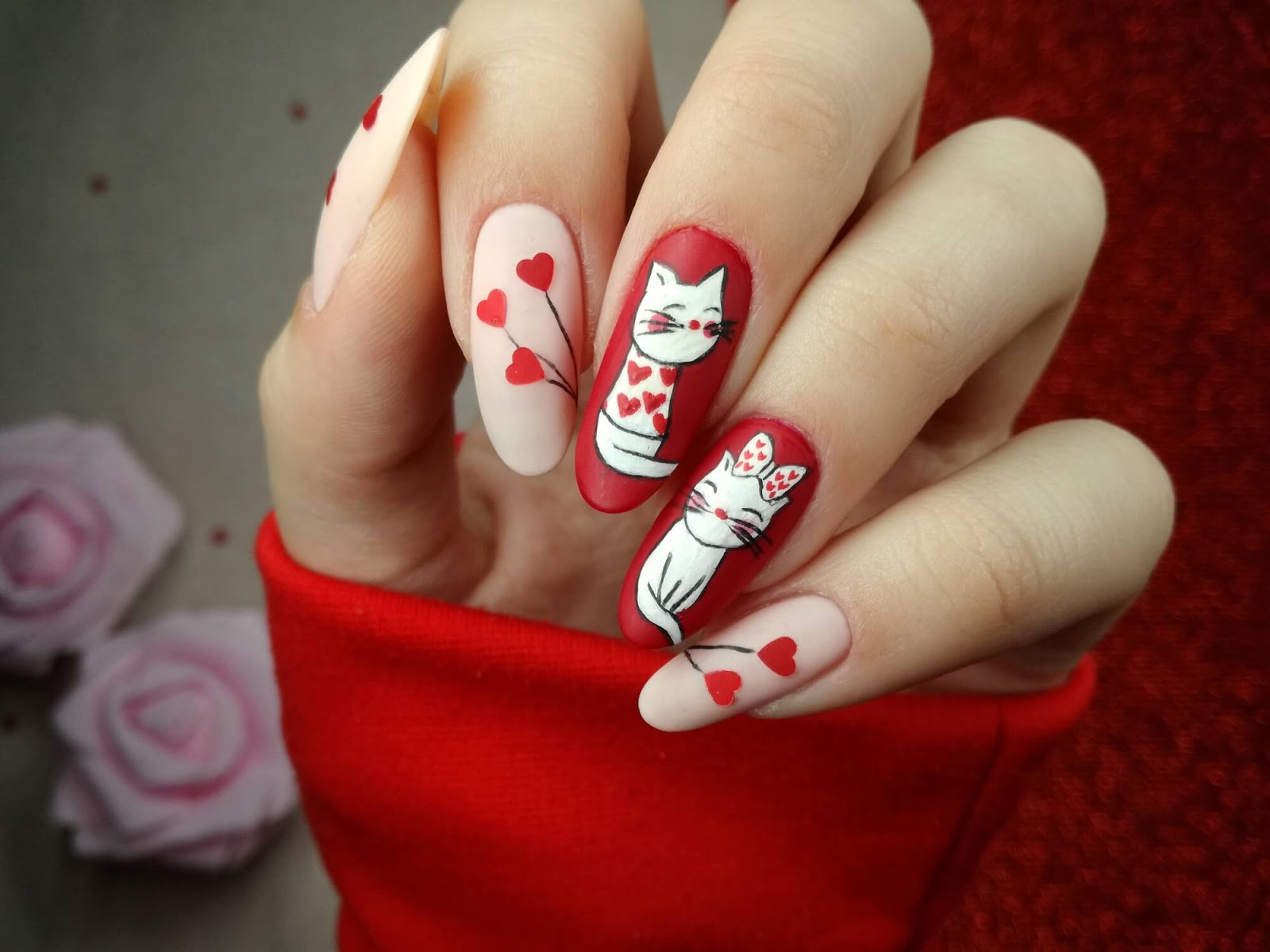 kotki na paznokcie