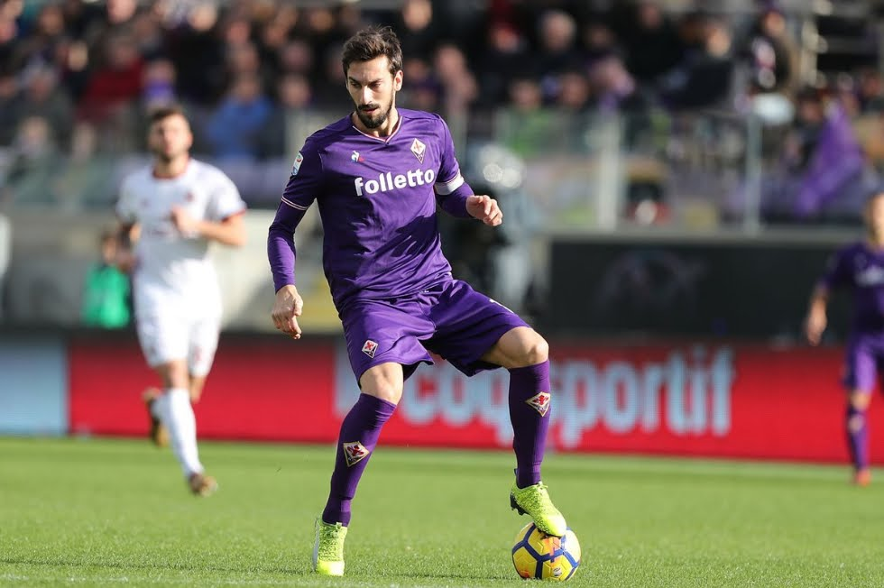 Morte del giocatore Astori: partite rinviate, il cordoglio di Buffon e Sergio Ramos