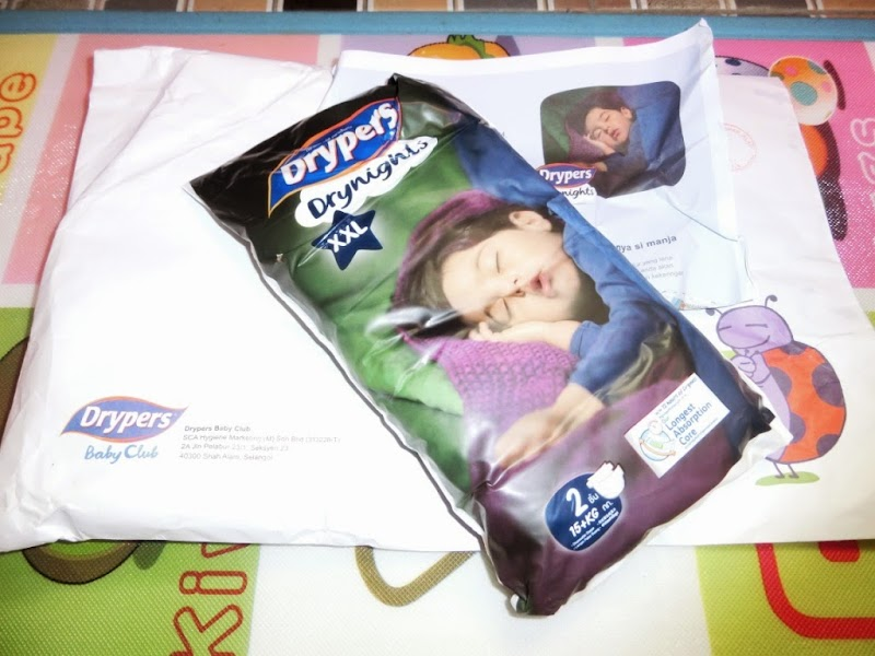 Review Drypers Drynights