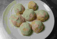 Potato stuffed dough balls for amritsari kulcha