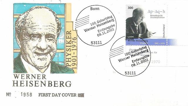 Germany Werner Heisenberg Nobel Prize physics FDC
