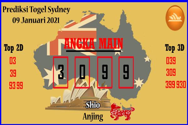 Bocoran Sydney 9 Januari 2021
