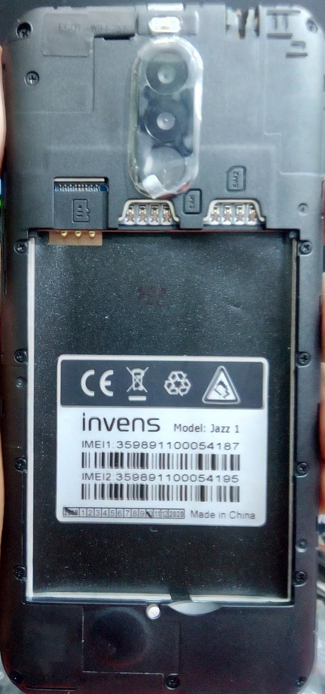 INVENS JAZZ 1 FLASH FILE FIRMWARE (STOCK ROM)