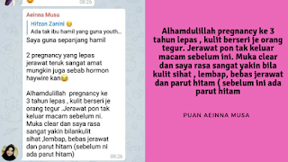 Testimoni YOUTH Ibu Hamil