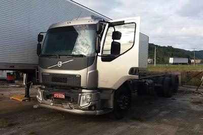 Receptadores de caminhão e carga de queijo avaliada em quase R$ 150 mil são indiciados