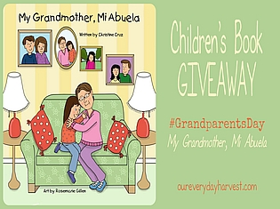 Children's Book Giveaway My Grandmother, Mi Abuela