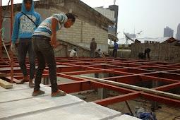 Kelebihan Pemasangan Panel Lantai AAC dengan Konstruksi Besi Baja