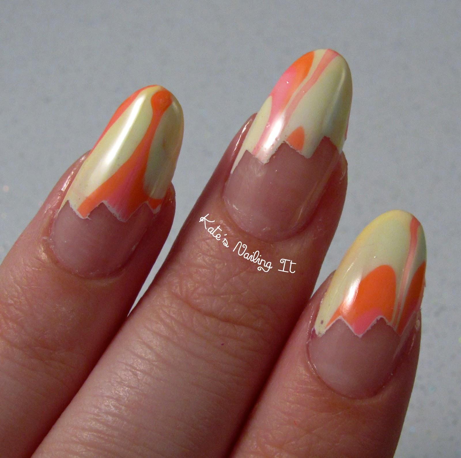 Nail Polish Used For Water Marble Nail Art Crossfithpu