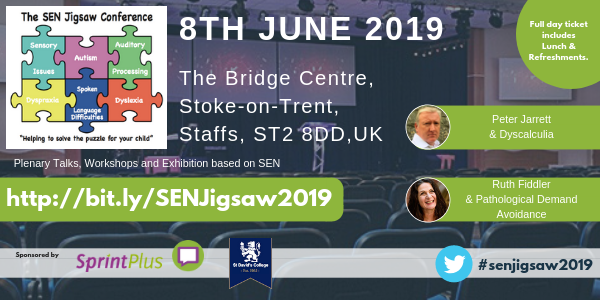 The SEN Jigsaw Conference 2019