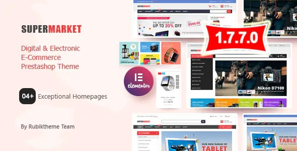 Best Shopping Ecommerce Prestashop Theme