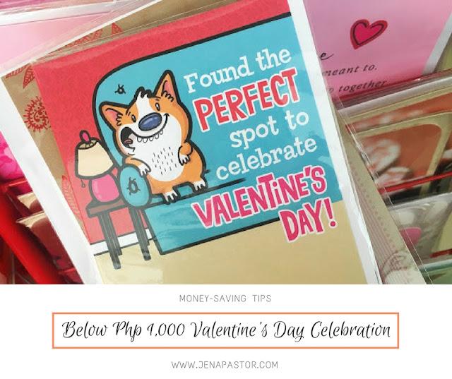 valentine's day card, money-saving tips