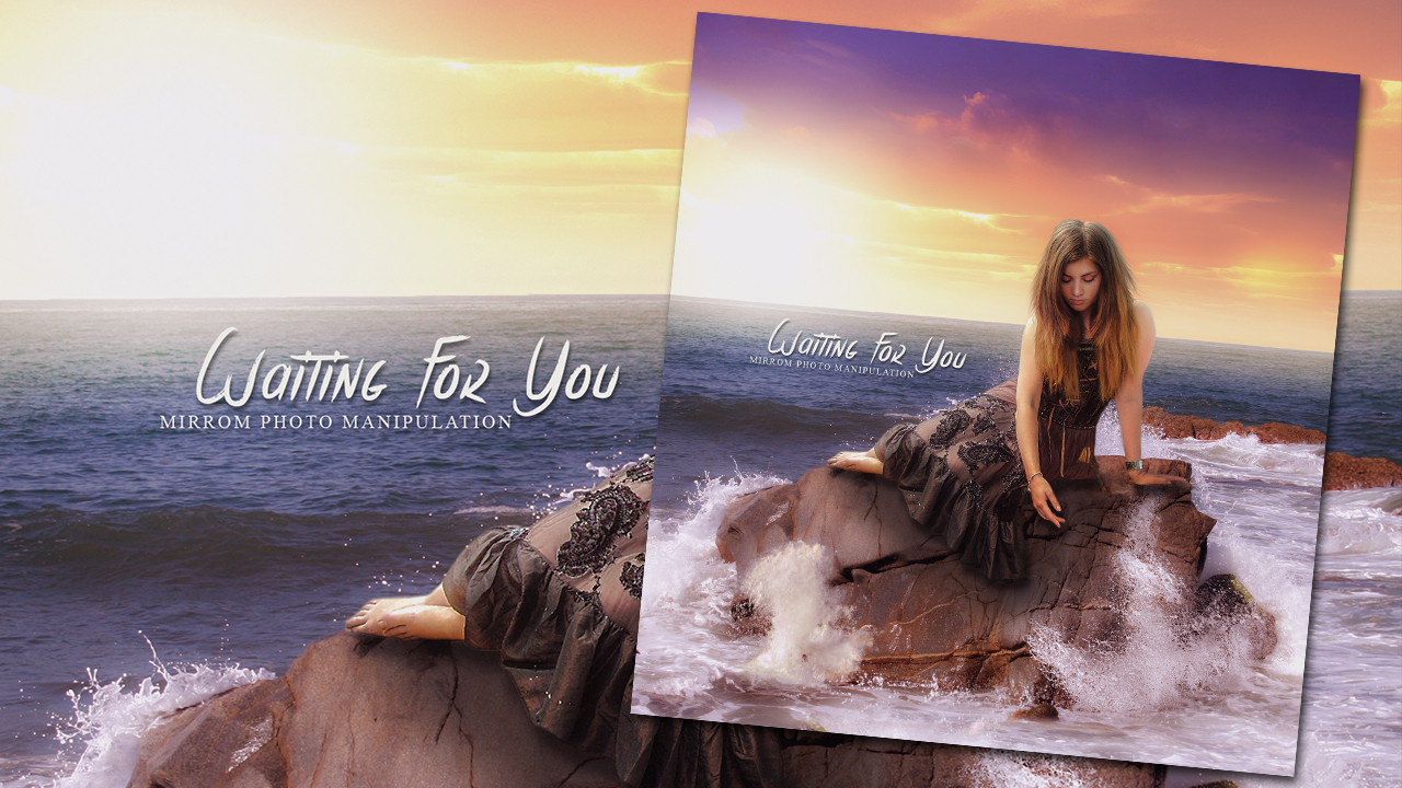 Design a Waiting For You Scene Photo Manipulation In Photoshop