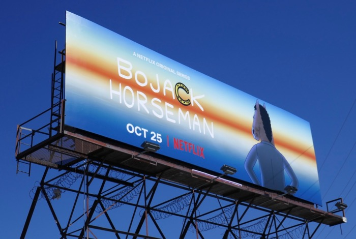 BoJack Horseman final season 6 billboard