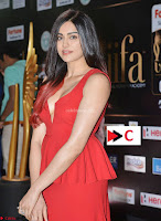 Adah Sharma in Red Deep Neck Spicy Gown ~  Exclusive 57.jpg