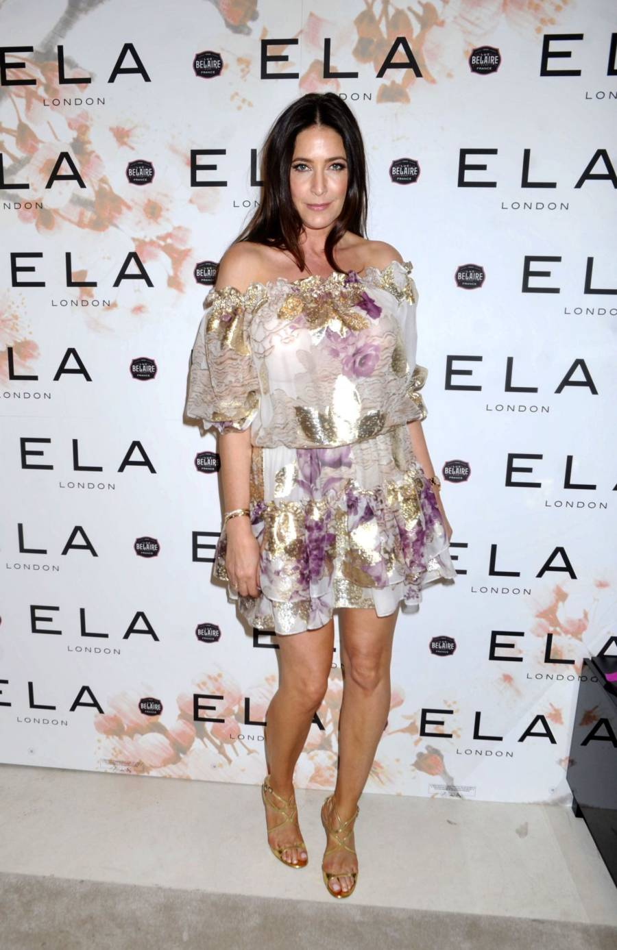 Lisa Snowdon At Ela Store Launch Party in London