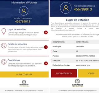 Elecciones 2018: Consultar lugar de votación en Colombia desde teléfonos Android