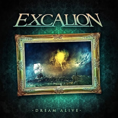 "Excalion - ""The Firmament"" (lyric video) from the album ""Dream Alive"""