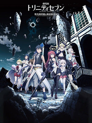 [Review Anime Movie] Trinity Seven Movie: Eternity Library to Alchemic Girl