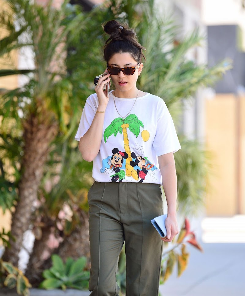 Jessica Gomes Spotted Outside  in Los Angeles 11 Jun -2020